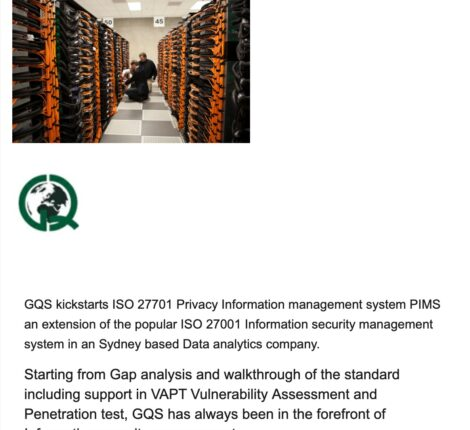 ISO 27701 Privacy Information Managment system
