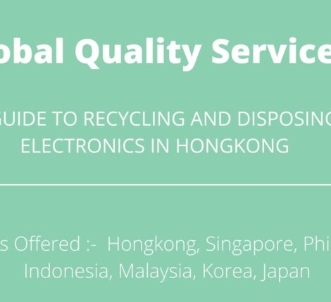 A GUIDE TO RECYCLING AND DISPOSING ELECTRONICS IN HONGKONG
