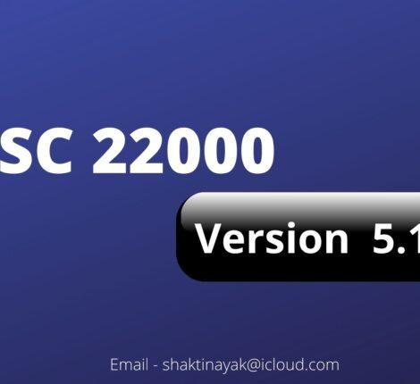 FSSC 22000 Version 5.1
